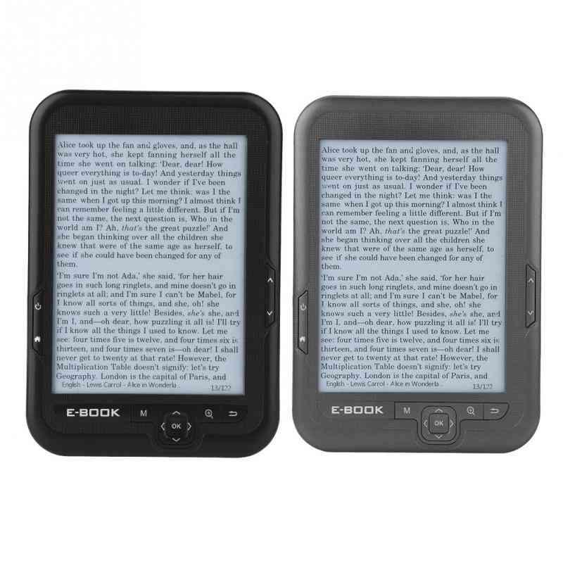 Portable E-book Reader E-ink 16gb 8gb 4gb  E-book Reader Read