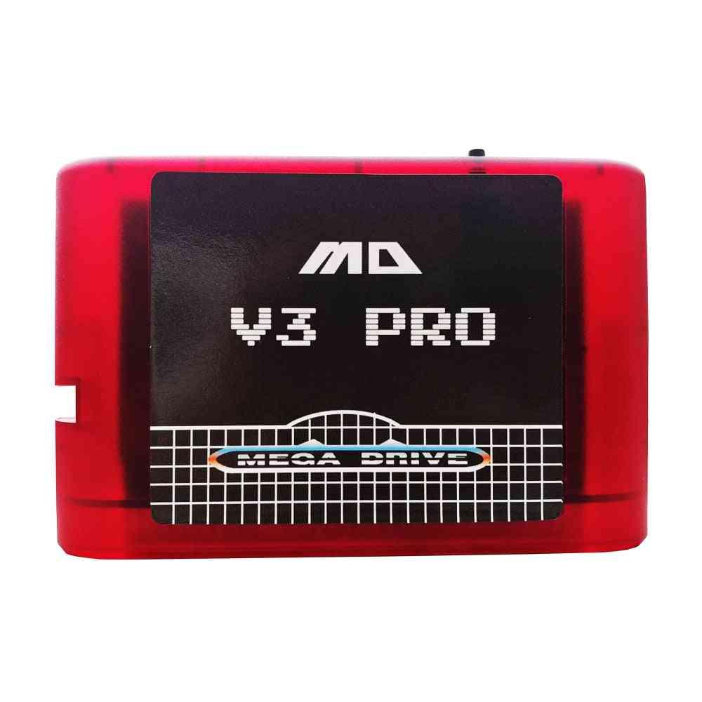 Mega Drive V3 Pro In One China Version Md Game Cassette