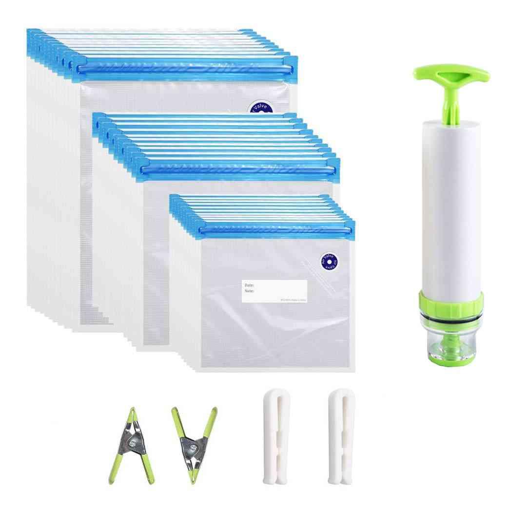 Reusable Food Storage Vacuum Seal Bag
