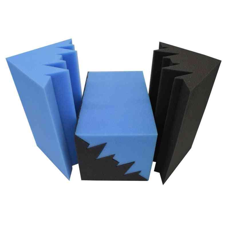 Corner Acoustic Bass Trap Foam Sound Treatment Soundproof Panel Studio Absorption Tiles Fireproof