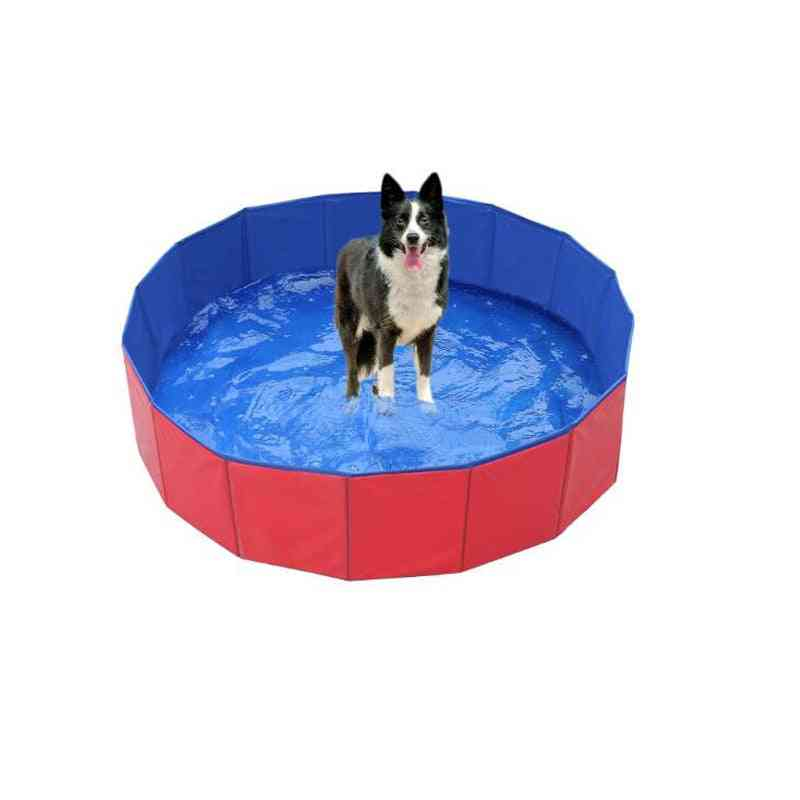 Pvc Foldable Pet Bathtub Folding Dog Bathtub