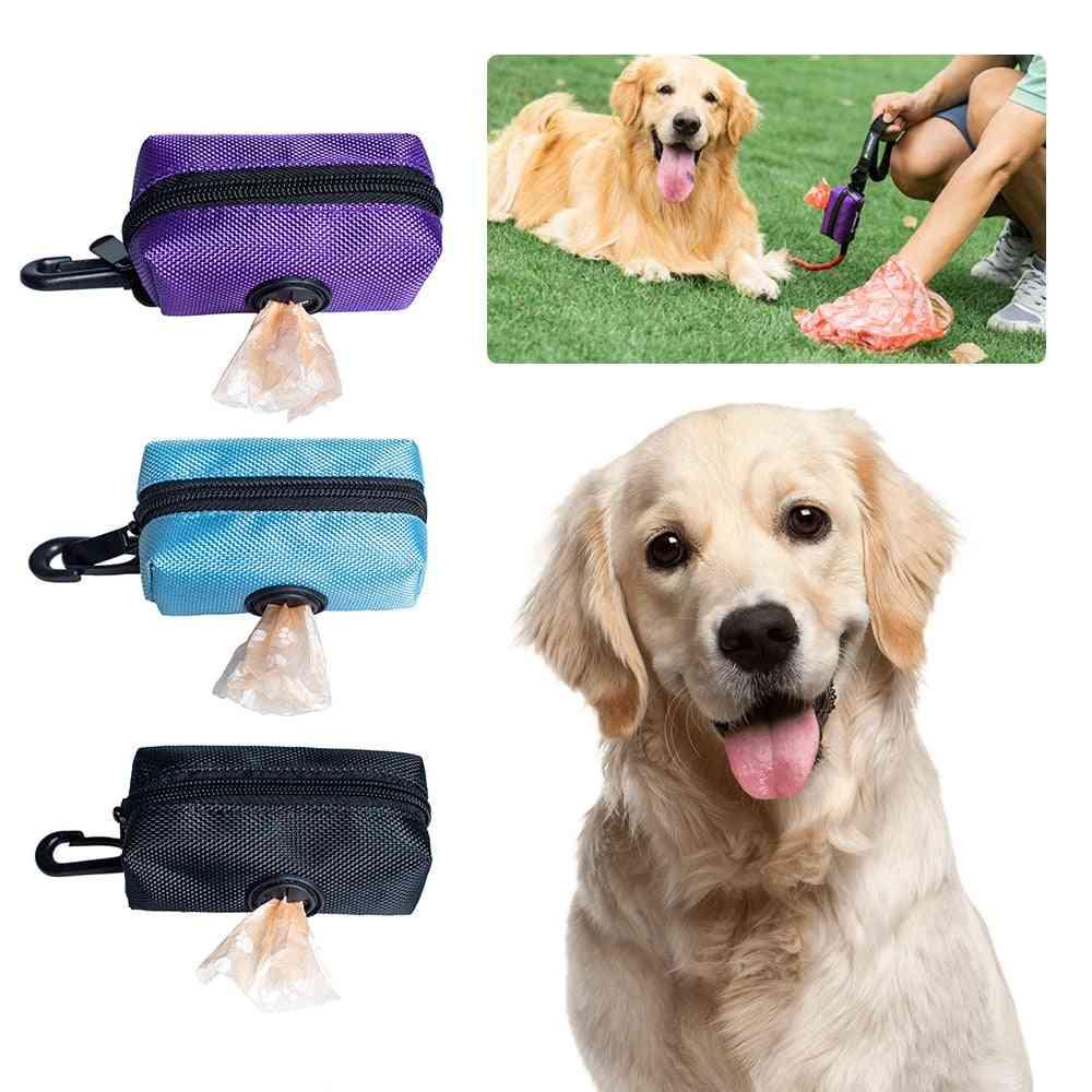 Pet Puppy Cat Pick Up Poop Bag Dispenser Dog Poop Waste Bag Holder