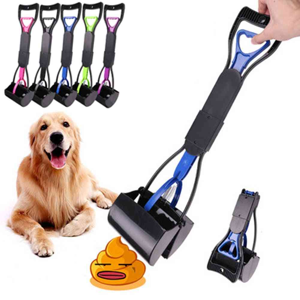 Pet Pooper Scooper Long Handle, Clean Pick Up Animal Waste  Puppy Waste Picker