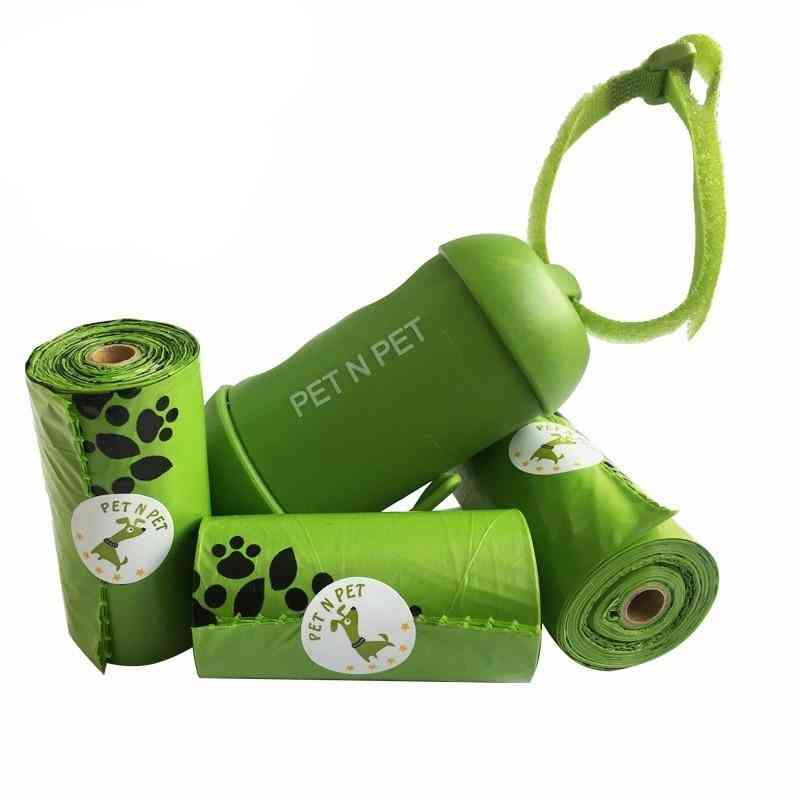 Earth-friendly 3 Rolls With 1 Dispenser Dog Waste Bags / Pooper Scooper