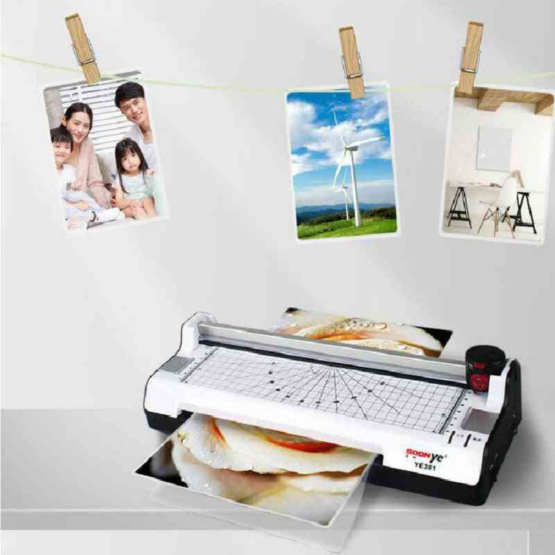 A3 Photo Paper Hot And Cold Thermal Laminator Machine