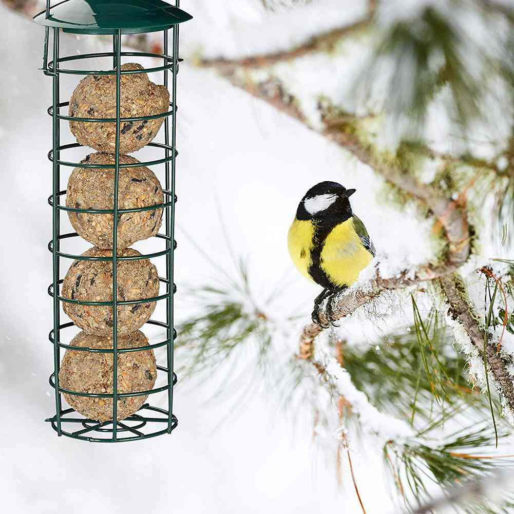 Hanging Type Pet Bird Food Feeder Container Hanger Feeding Tool