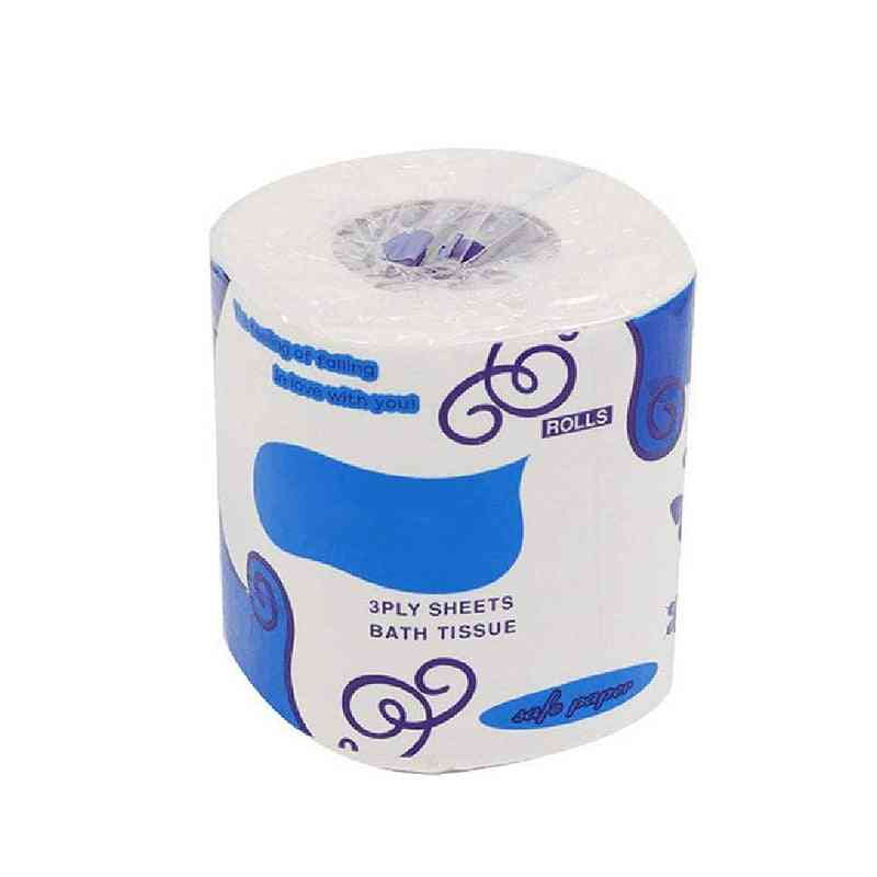 Individual Package Toilet Paper, Roll Bathroom Tissue, Kitchen Cleaning, Wood Pulp Papers