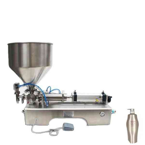Single Head Liquid Filler Cream Shampoo Pneumatic Filling Machine
