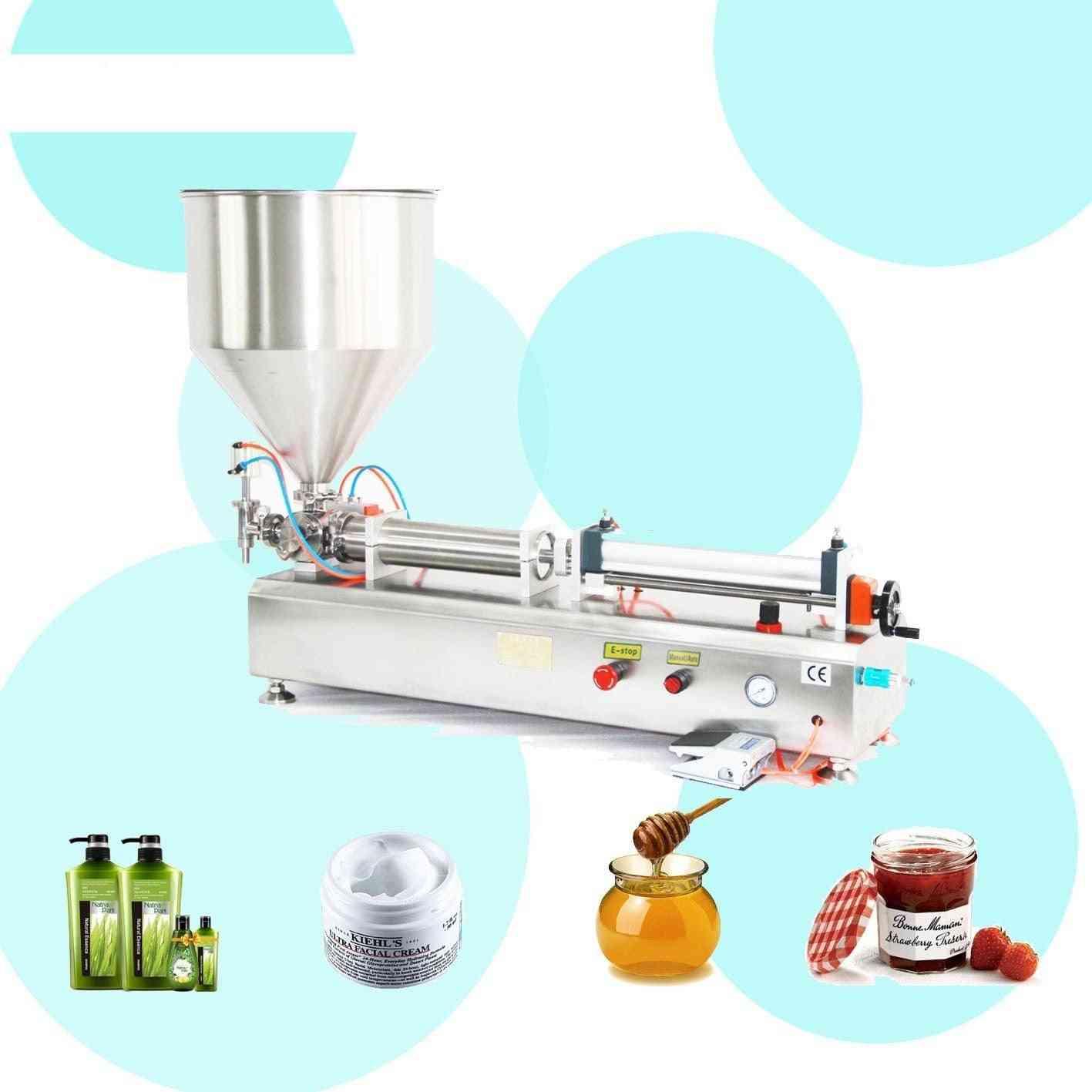 Fully Pneumatic Paste Filling Machine