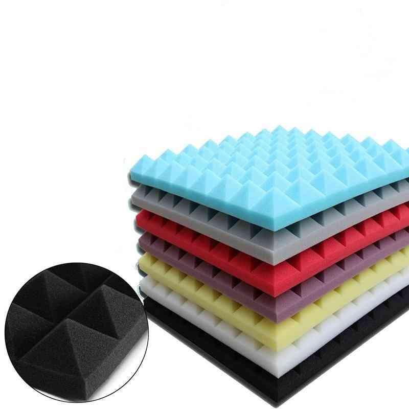 4pcs 500x500x50mm Soundproofing Foam Acoustic Foam