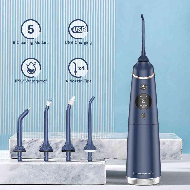 Water Flosser Tank Portable Teeth Cleaner
