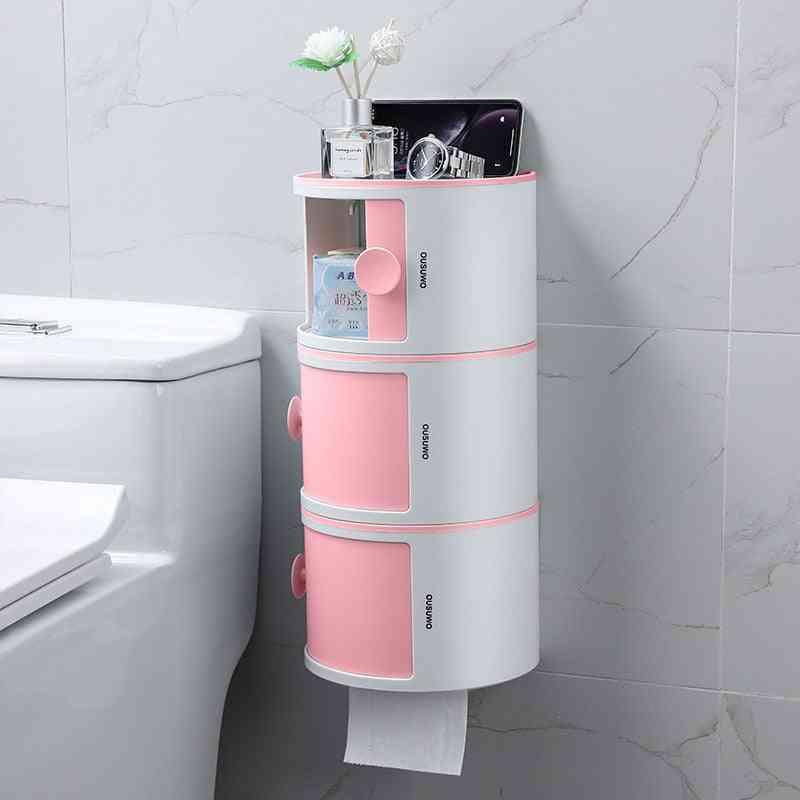 Creative Makeup Storage Hole-free Bathroom Tissue Box
