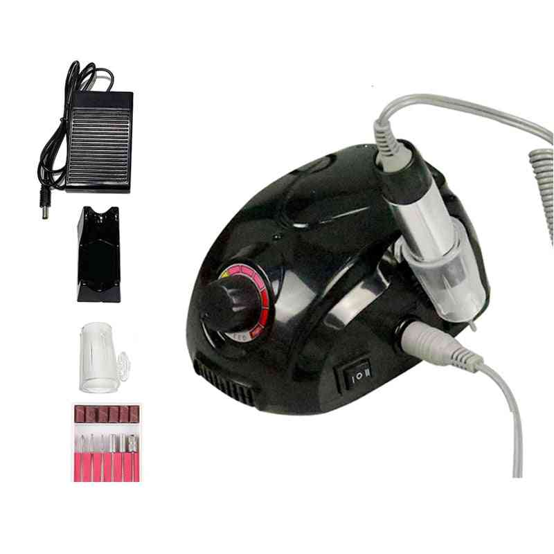 Electric Nail Drill Manicure Machine Set