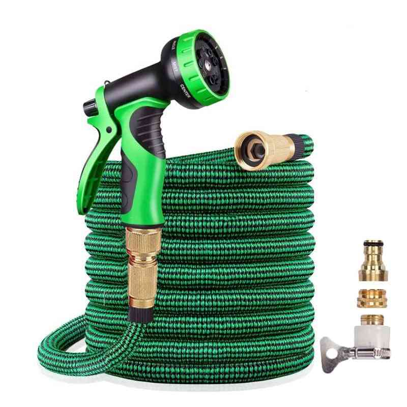 Hose Expandable High Pressure Plastic Pipe Magic Flexible Water Hose With Spray Gun For Watering