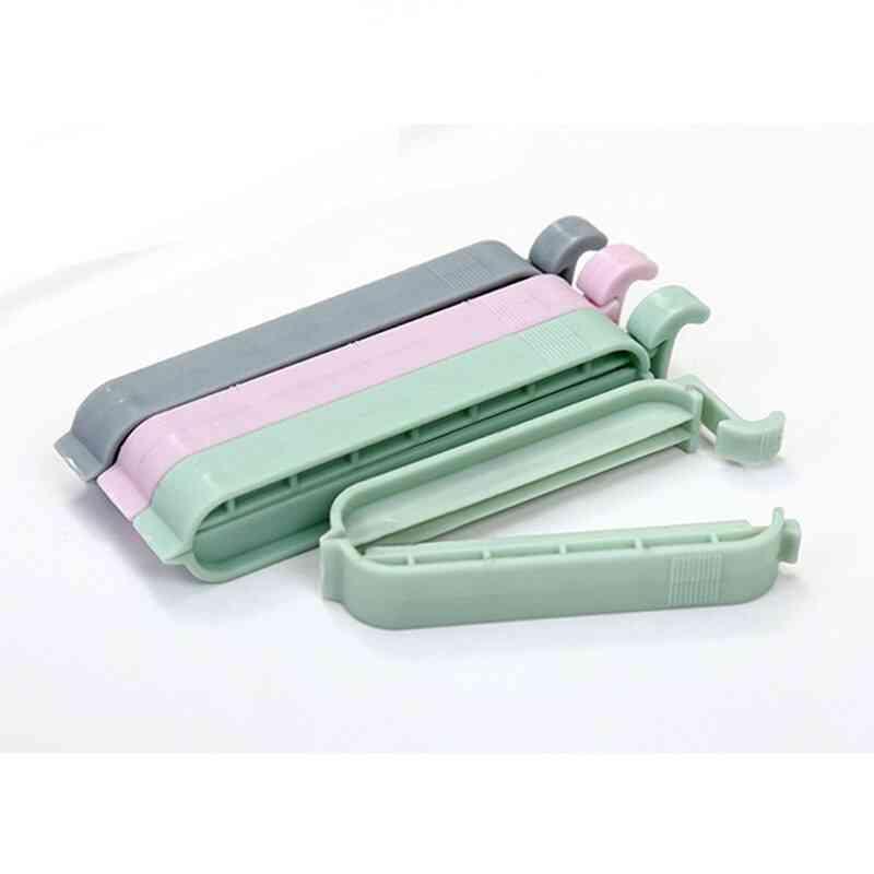 Plastic Clips Snack Storage Bag Mini Vacuum Sealer