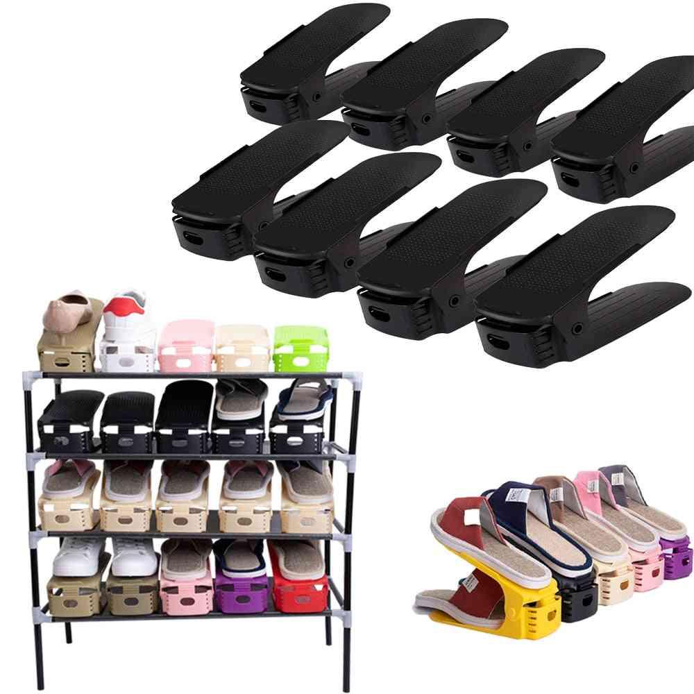 Shoe Rack Organizer Adjustable Storage