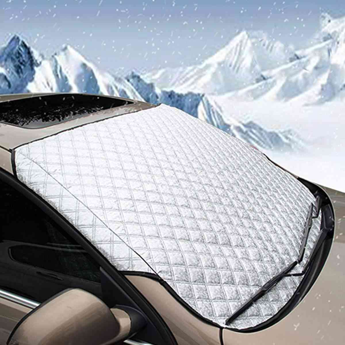 Car Windscreen Cover Anti Snow Frost Ice Shield Dust Protector &  Heat Sun Shade