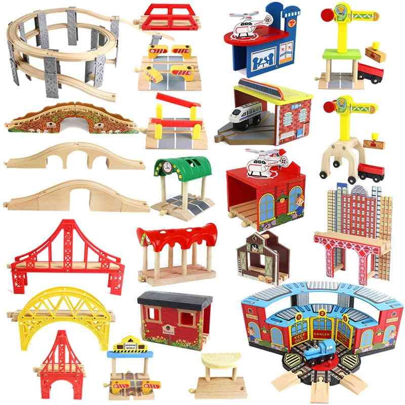 Wooden Track Railway Accessories