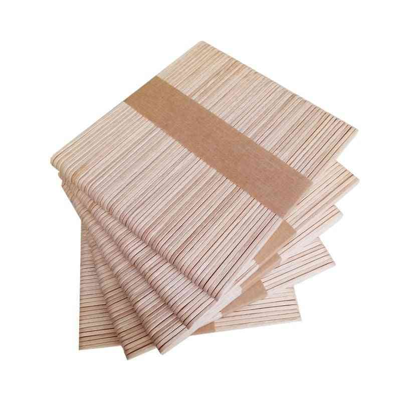 Woman Wooden Body Hair Removal Wax Disposable Sticks