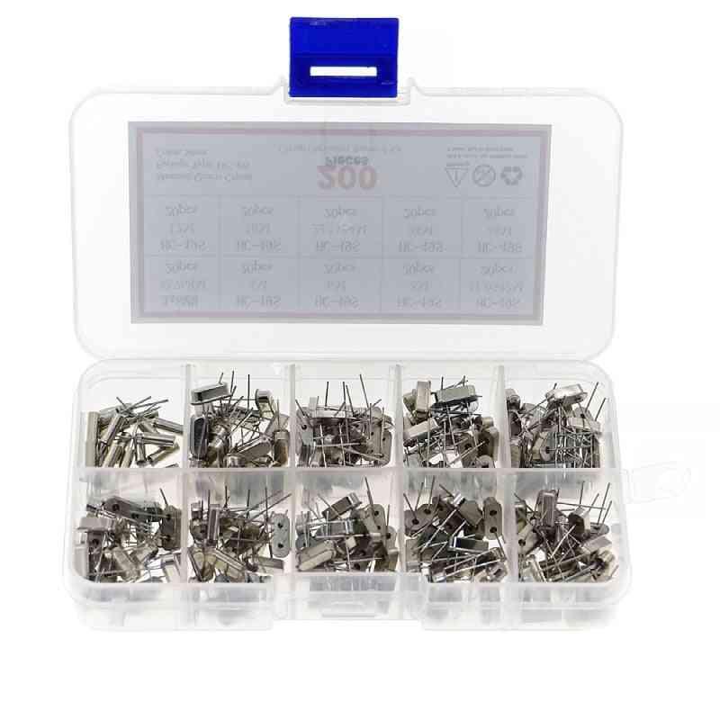 10values Hc-49s Quartz Resonator Dip Crystal Oscillator Kit