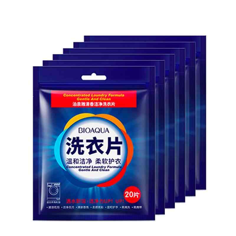 Laundry Detergent Sheet Nano Concentrated Washing Powder