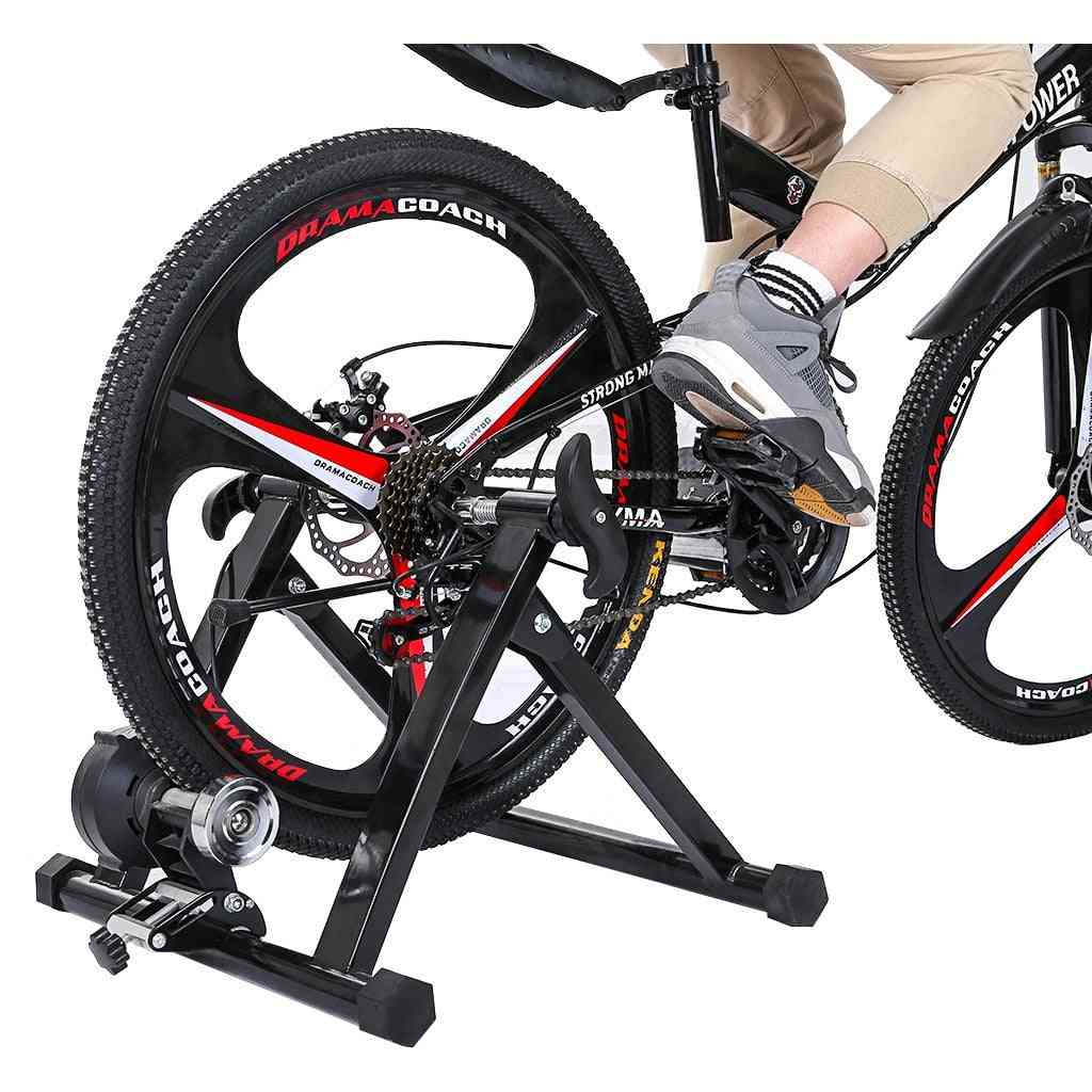 Indoor Exercise Bike Trainer Home Training 6 Speed Magnetic Resistance Bicycle Trainer Road Mtb Bike Trainers Cycling Roller Car