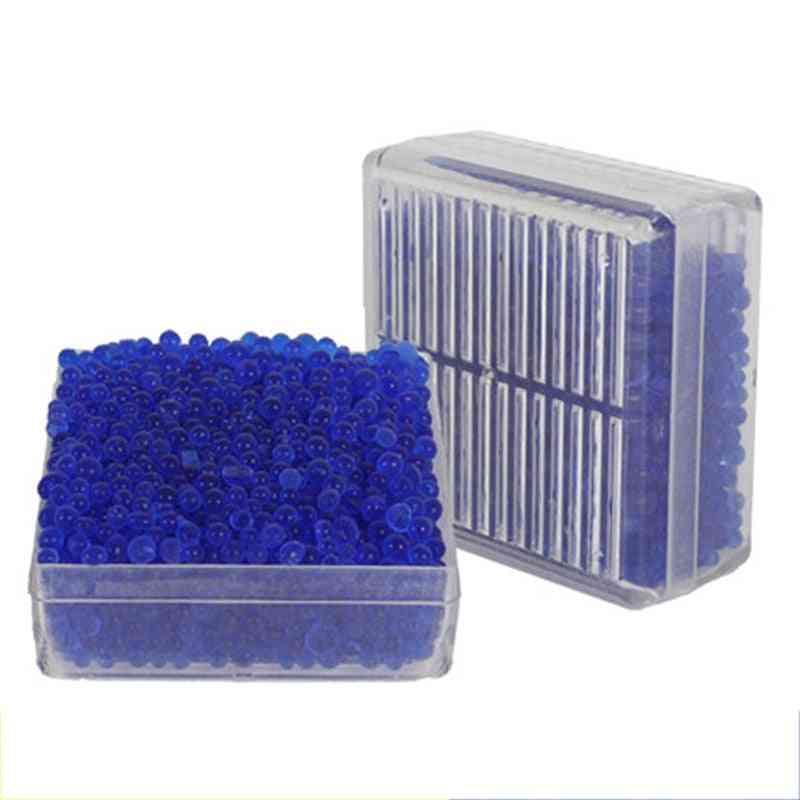 1pcs Reusable Moisture Absorb Beads Desiccant Moisture Proof Box Multifunction Dehumidifier Silica Gel Package Slr Lens