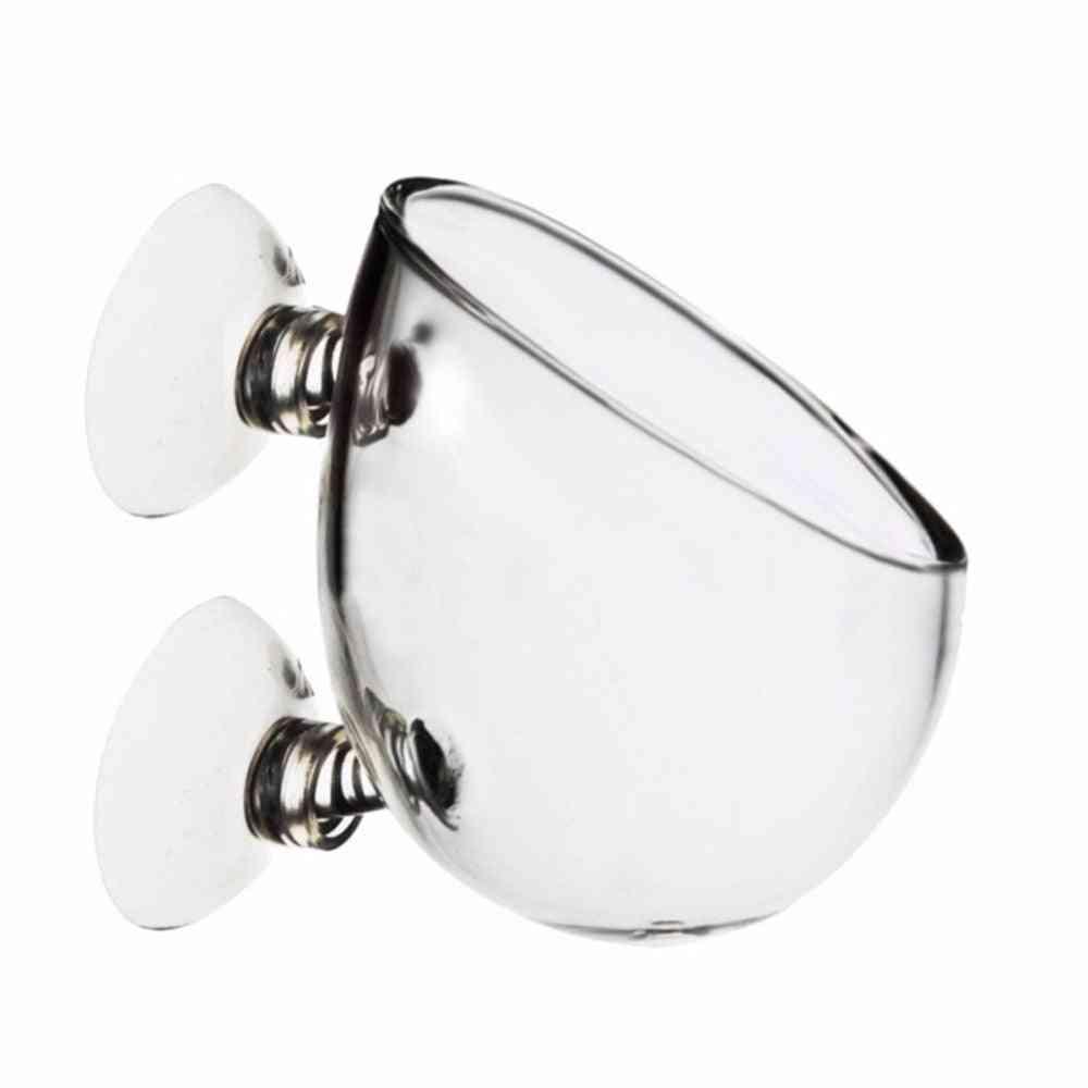 Mini Fish Tank Crystal Glass Pot