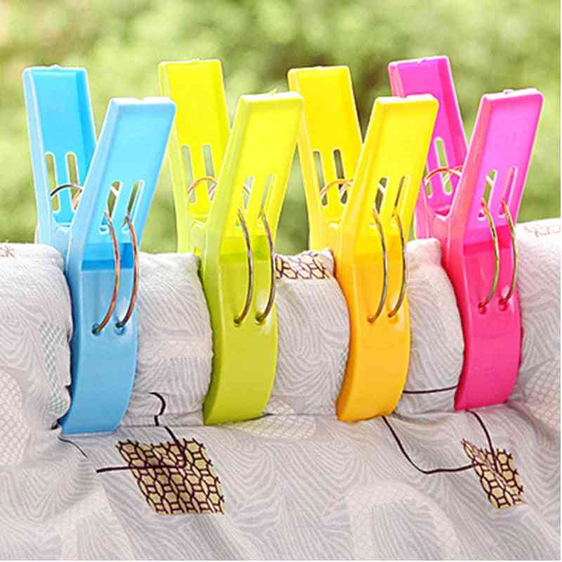 Clips Pegs Large Clamp For  Folding Clothes Dryer Hanger
