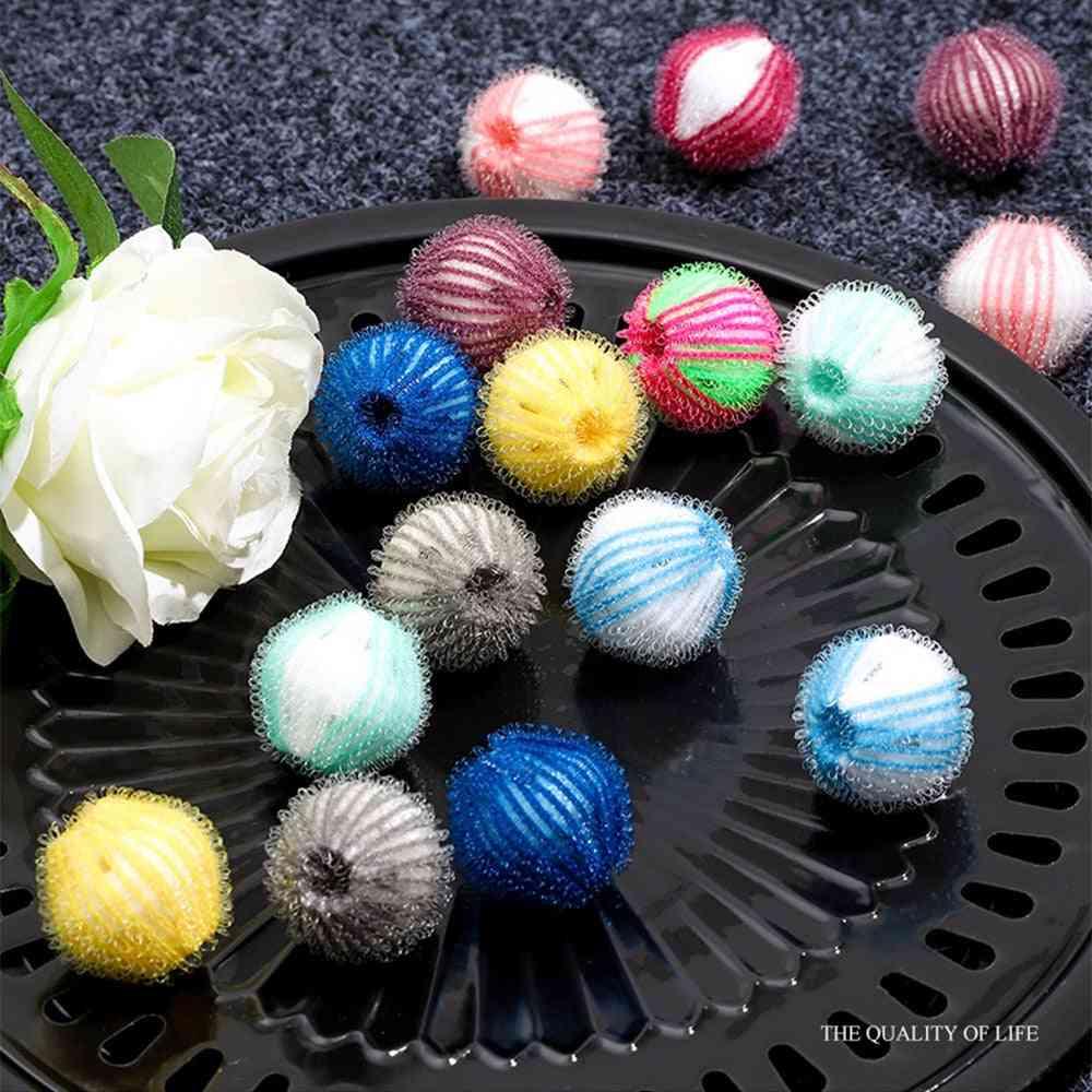 Nylon Laundry Ball Decontamination Washing Machine