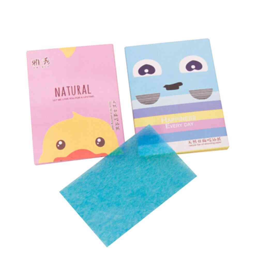 50 Sheets/pack Makeup Facial Face Clean Oil Absorbing Blotting Papers Beauty Tools