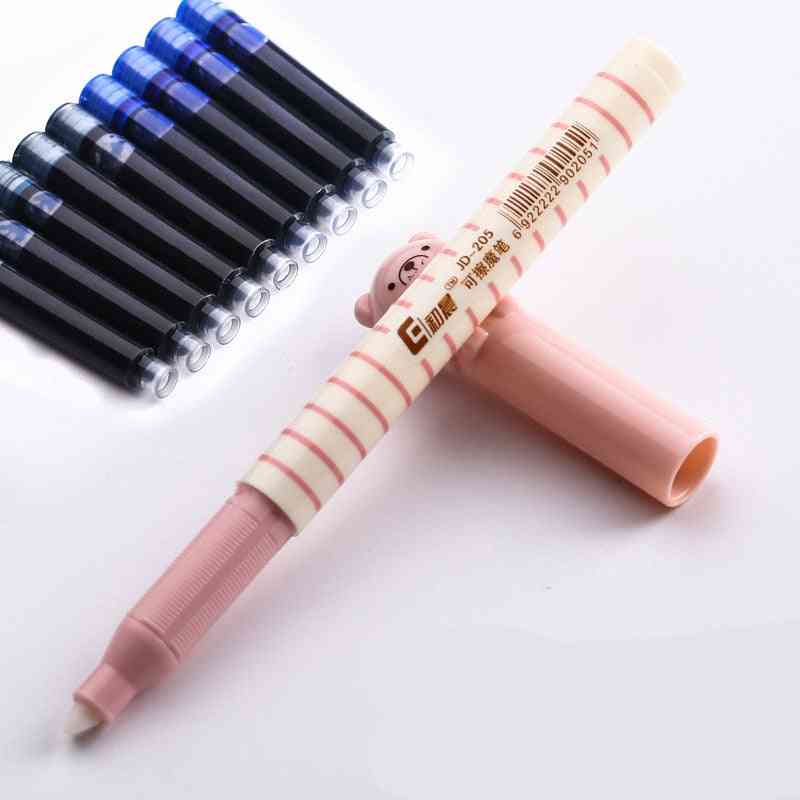 Disposable Dia 3.4mm Fountain Pen Ink Cartridge Refills