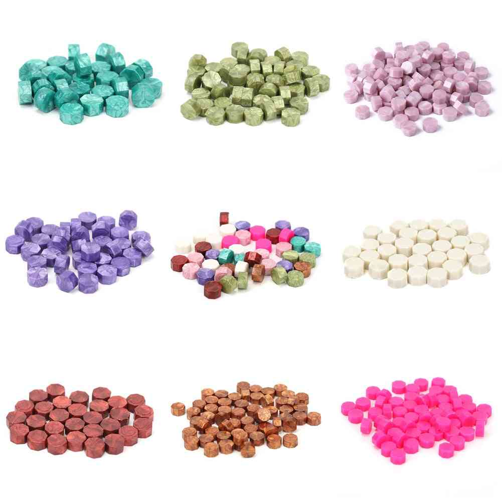 Seal Stamp Wax Colorful Beads Wax