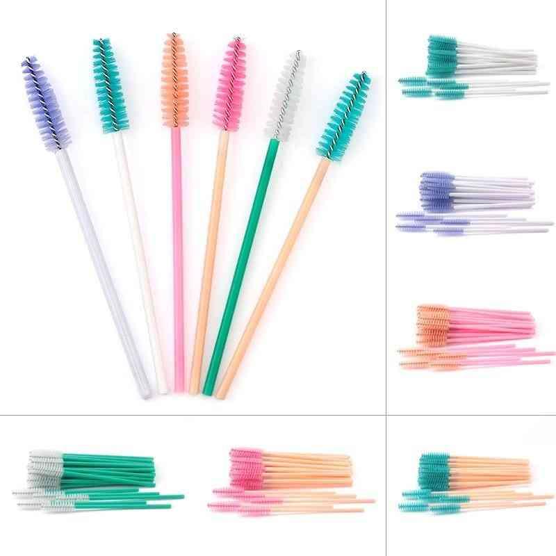 Disposable Eyelash Brush Mascara Stick Applicator