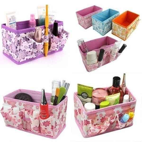 Folding Cosmetic /jewelry/small Storage Box/bag