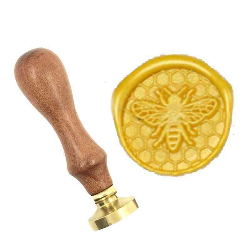 Lovely Natural Bee Wax Stamp