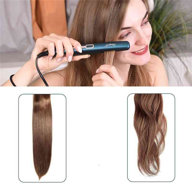 Mini Professional 2 In 1 Portable Hair Curler Hair Straightener