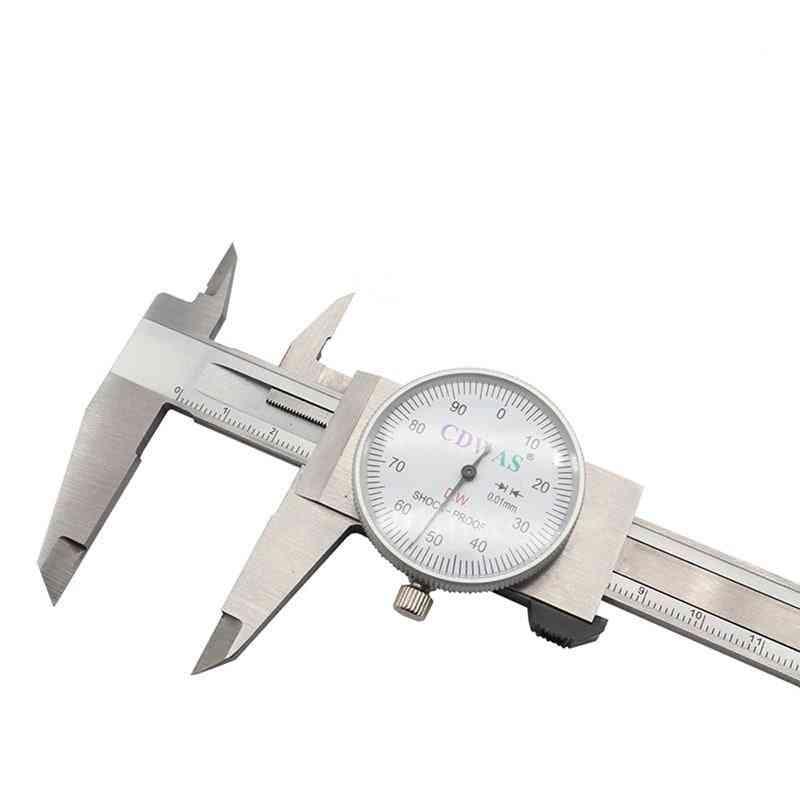 Industry Stainless Steel Vernier Caliper Shockproof Metric Measuring Tool