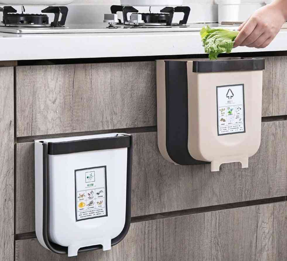 Foldable Kitchen Trash Can
