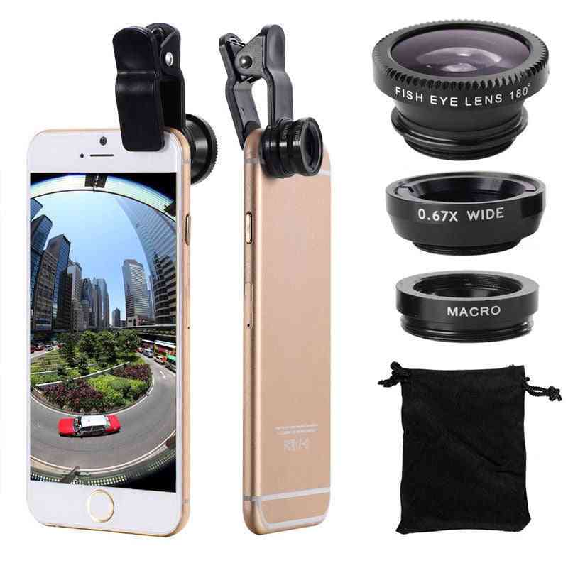 Wide Angle Mobile Phone Camera Lens