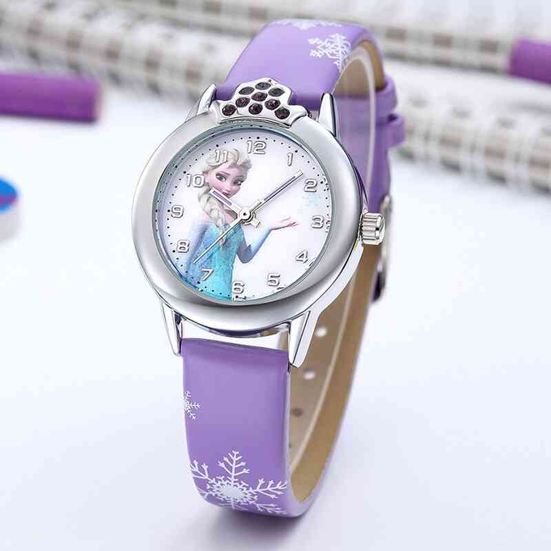 Kids Watches Leather Strap