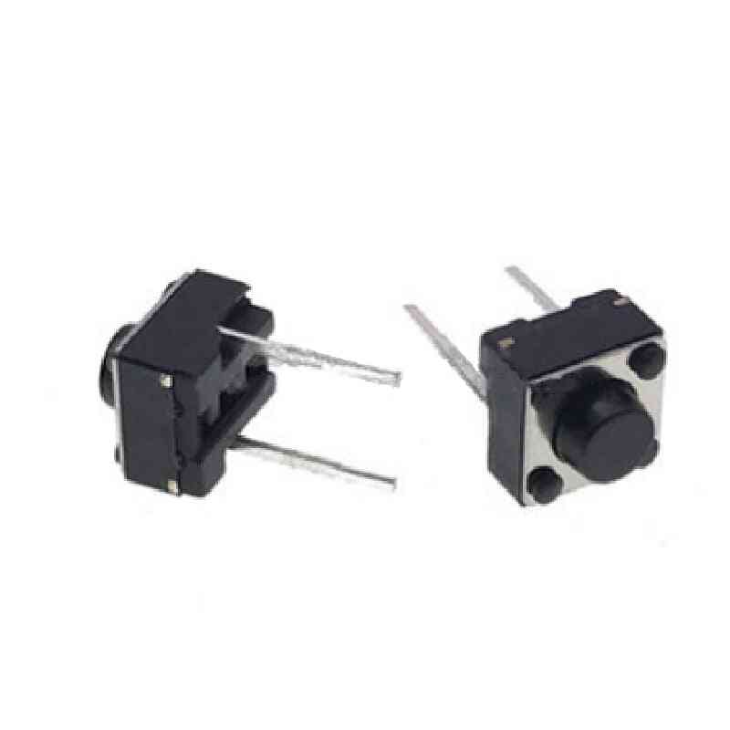 Tact Push Button Switch Micro Key Power Tactile Switches 6x6x5 6*6*5mm Light Touch