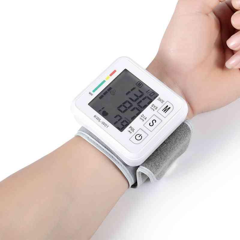Blood Pressure Monitor Sphygmomanometer Wrist Digital Tensiometers