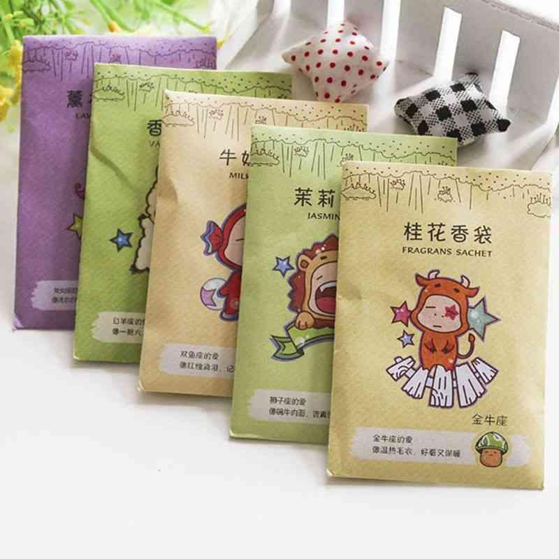 Fragrance Sachet Bag Natural Grain Scented Wardrobe Deodorant Air Freshener