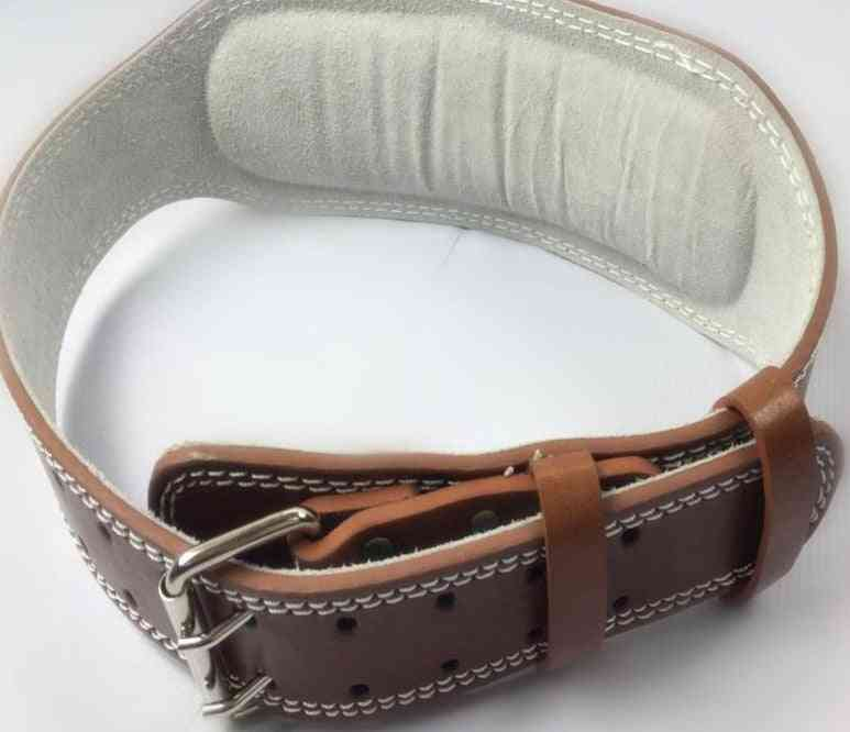 Leather Weightlifting Belt