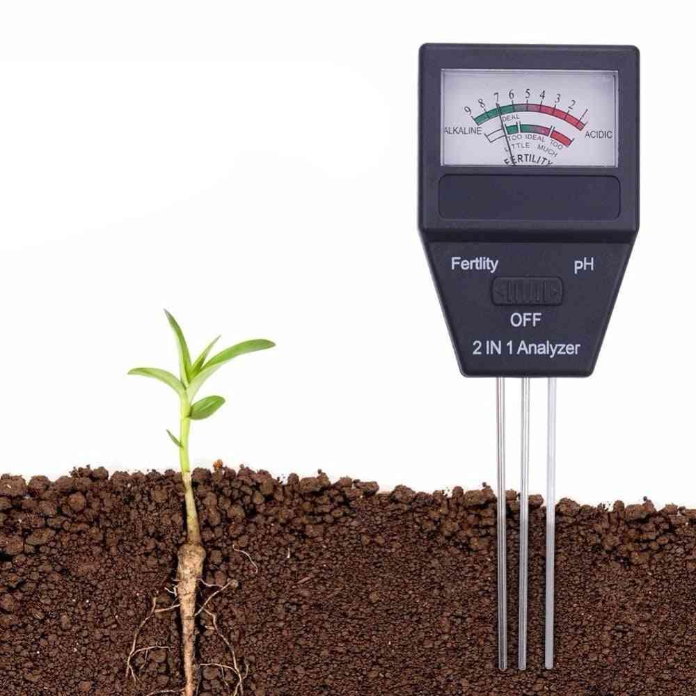 Soil Moisture Sensor Meter Plant Fertile Ph Tester