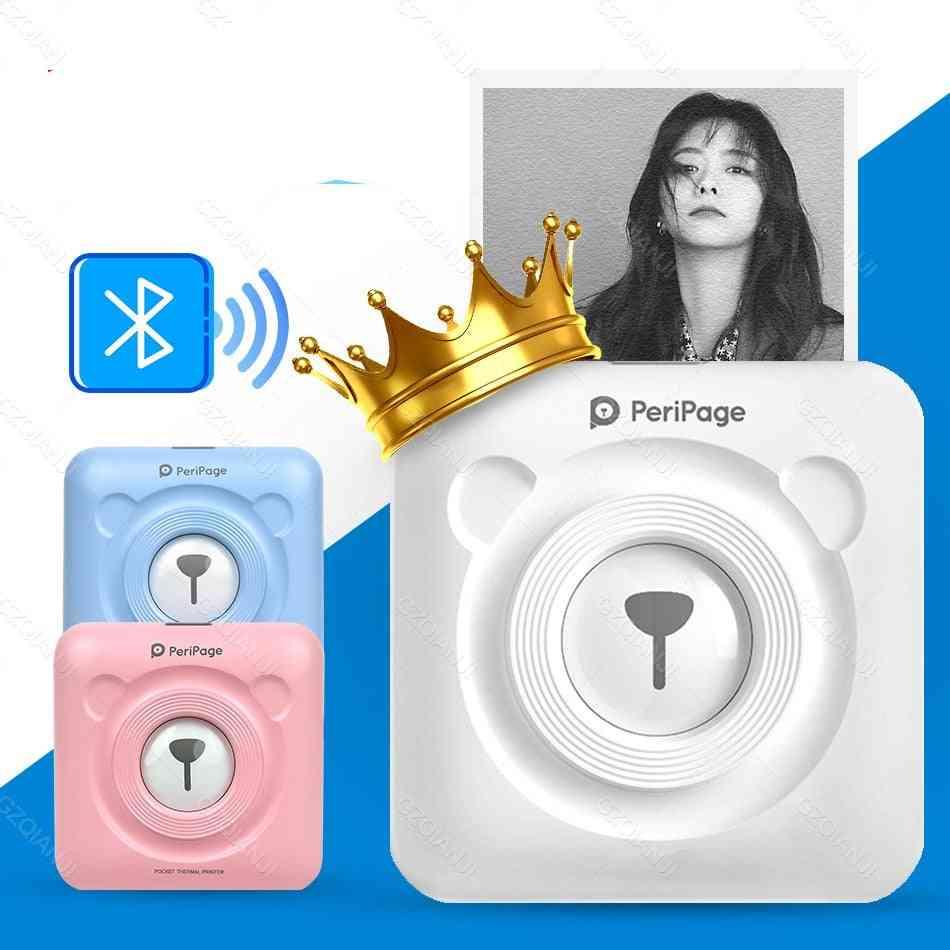 High Resolution Peripage Mini Photo Bluetooth Pocket Printer