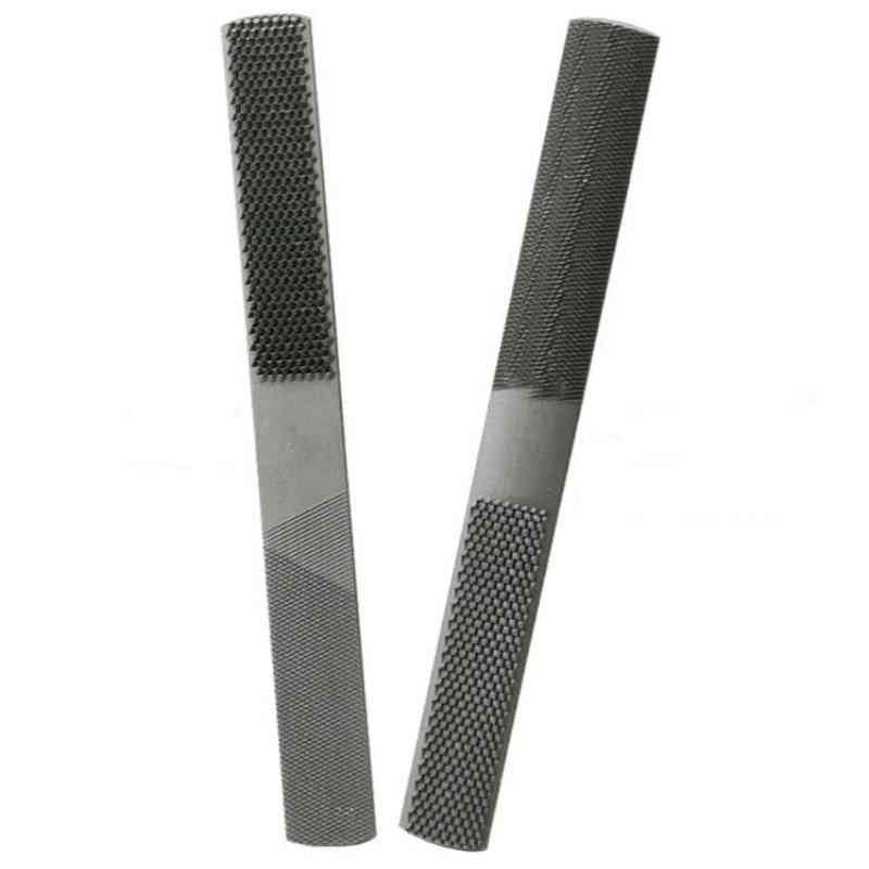 Double-cut Alloy Square Flat Half Round Filling Needle Microtech Wood Carving