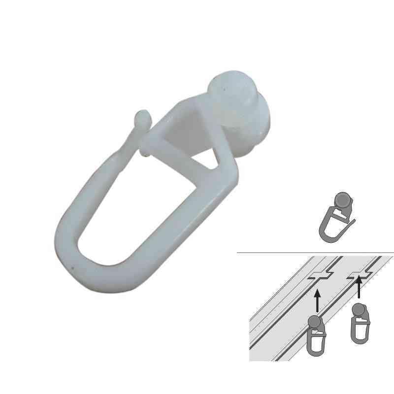 100 Pcs Gliders Pleating Hooks ,curtain Accessories