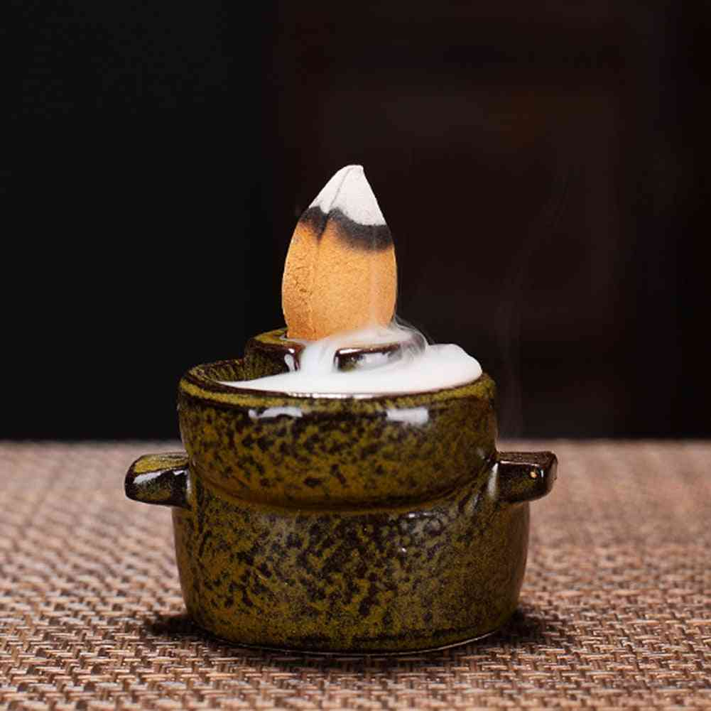 Holder Incense Fountain Backflow Incense Cones